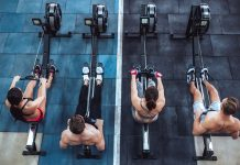 rowing technique crossfit: Rowing Machine for Crossfit Training