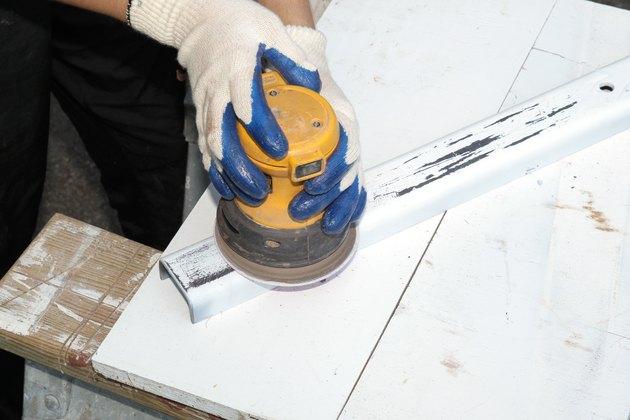 how to sand metal: Sander