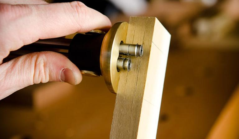 essential woodworking tools for beginners: Veritas Dual Marking Gauge