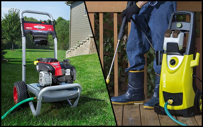 Gas Power Washer Vs Electric Power Washer: Which One Serves Better