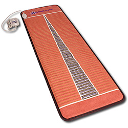 infrared heating pad: Far Infrared Mat with 100% Amethyst & Negative Ions- by MediCrystal