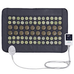 infrared heating pad: Far Infrared Natural Jade and Tourmaline Heating Pad Mat for Pain Relief By UTK