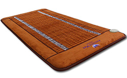 Far Infrared Amethyst Large Mat by Ereada
