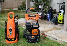 pressure washer tips chart: Size, Angle, PSI Chart & Application