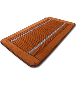 Far Infrared Amethyst Large Mat by Ereada