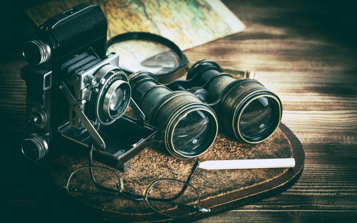 binocular repair: DIY