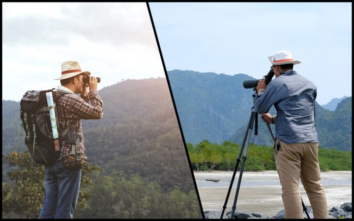 binoculars vs monocular: Know the differences