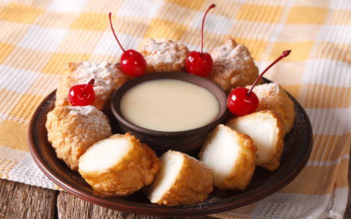deep fried desserts: