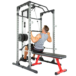 garage gym ideas: A pulley station can make your garage gym complete
