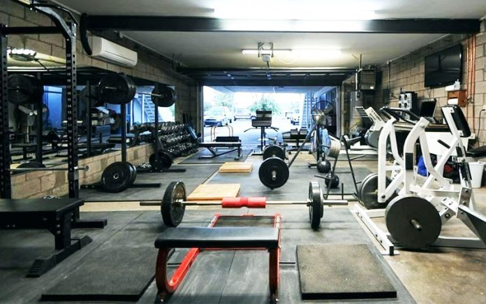 garage gym ideas:
