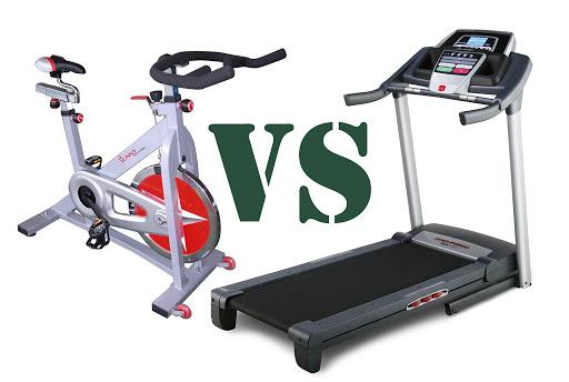Treadmill vs spin bikes