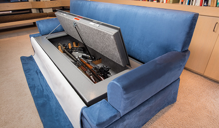gun safe storage ideas
