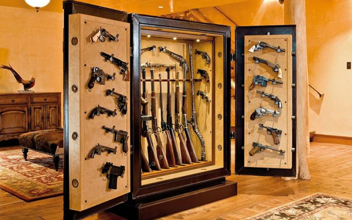 how to build a gun safe room: