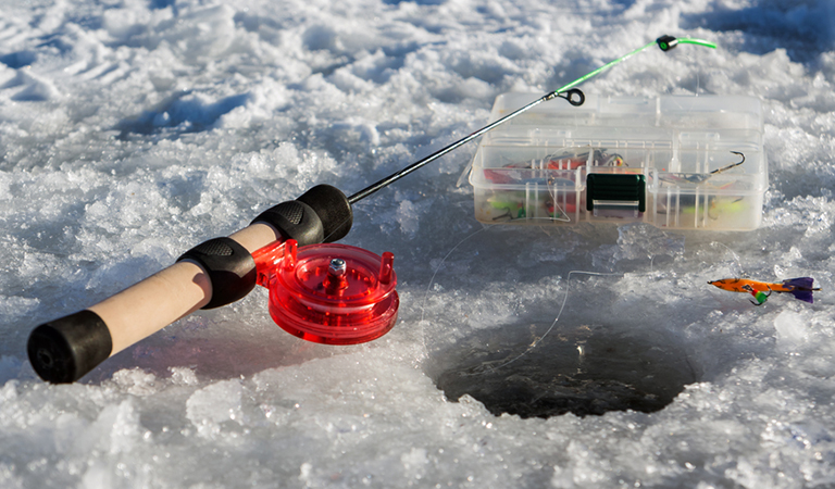 Ice Fishing Poles