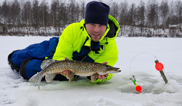 Winter Fishing Joy