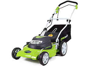 Our Pick GreenWorks 25022 Lawn Mower