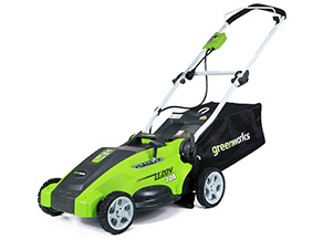 Greenworks 10 amp 16-inch Corded Lawn Mower