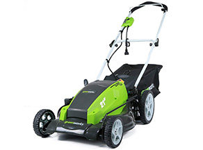 Best for Professionals: GreenWorks 25112 13 Amp 21-Inch Corded Lawn Mower